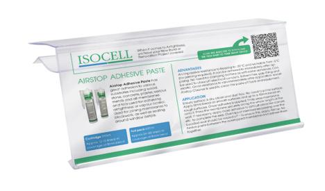 Isocell Shelf Talker