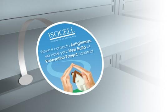 Isocell Shelf Wobbler
