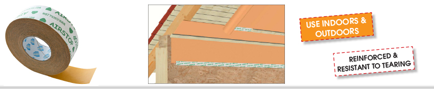 Isocell Airstop Adhesive Tape
