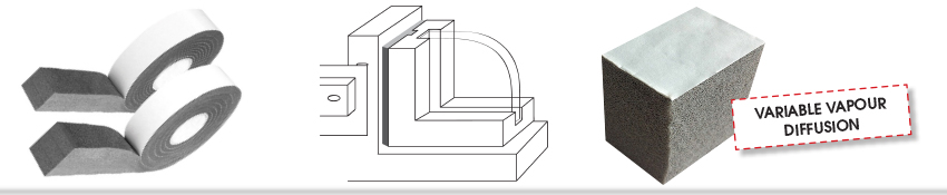 Isocell IsoWindow Foam Joint Tape