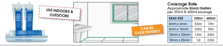 Isocell Uni Adhesive Sealant